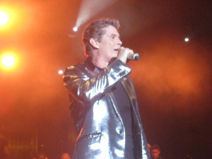 david hasselhoff live on stage